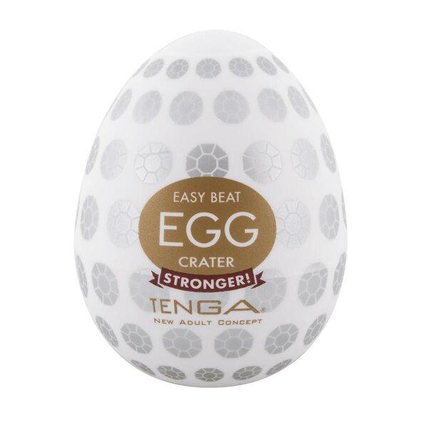 Masturbator Tenga Crater Egg 6er Pack Ei achteckige Struktur