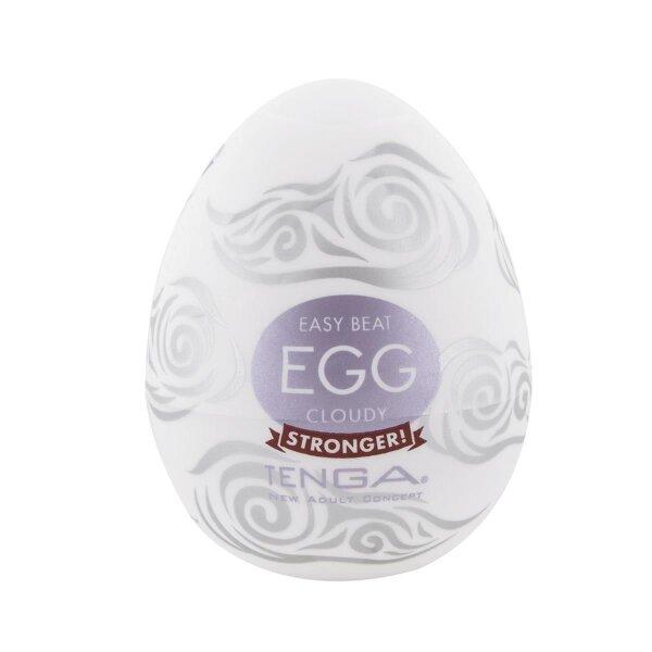 Masturbator Tenga Egg Cloudy Ei geschwungene Struktur