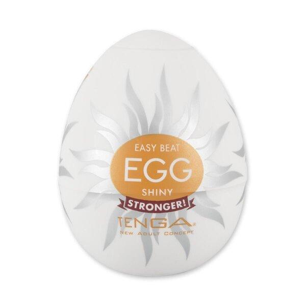 Masturbator Tenga Shiny Egg Ei wellenförmige Rillenstruktur