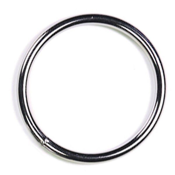 bellavib ® Metall poliert Cockring Penisring rund 30mm