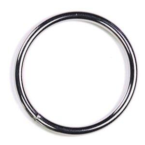 bellavib ® Metall poliert Cockring Penisring rund 45mm