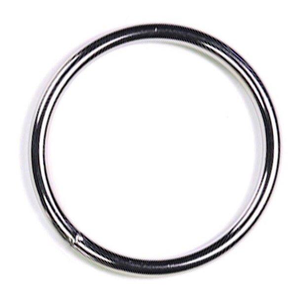 bellavib ® Metall poliert Cockring Penisring rund 50mm