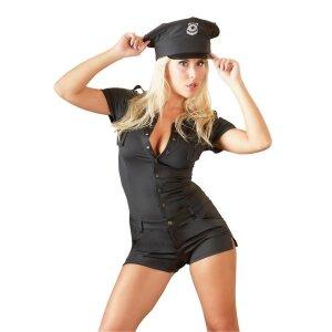 Polizei-Overall S Polizei-Kostüm Uniform...