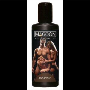 Massage Öl Erotik Magoon Moschus Duft 50ml...