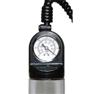 Penispumpe Vakuumpumpe  Deluxe mit Druckmesser