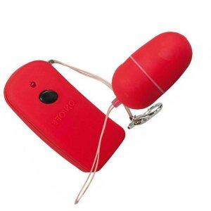 Lust Control Rot Vibrator-Ei Massage-Ei Sex-Ei Vibro-Ei
