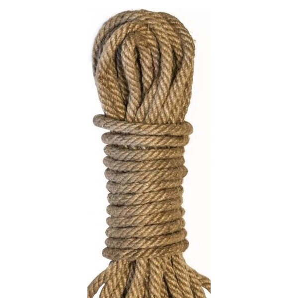 Tie me up! Bondage Seil naturall 10m lang aus Baumwolle