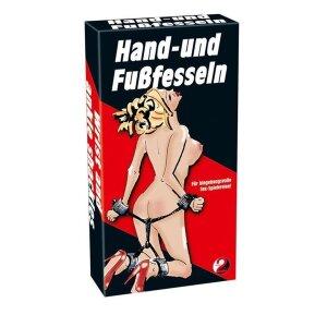 Hand- und Fußfesseln Fessel-Geschirr für hingebungsvolle Sex-Spielereien