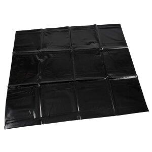 Orgy Vinyl Lack Kissenbezug schwarz 80x80cm