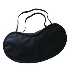 Augenmaske schwarz Schlafmaske Nachtmaske Augenbinde