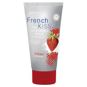 French Kiss Erdbeer 75ml Gleitmittel  Gleitgel