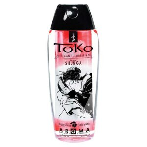 Gleitgel Toko Aroma Blazing Cherry 165ml Wasser Basis Kirsch Aroma