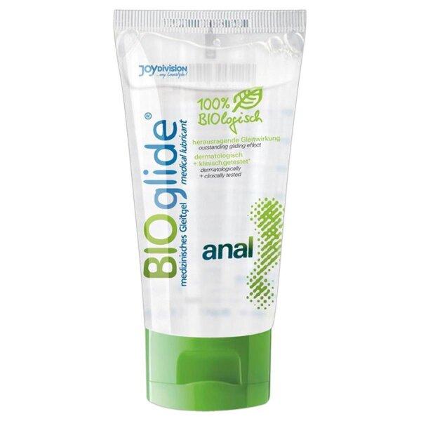 BIOglide Biologisches Gleitmittel Bio Gleitgel Anal 80ml