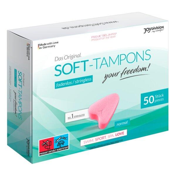 Soft Tampons normal / trocken 50 Stk.