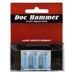 DOC HAMMER Pop-Master 3er Pack für ausdauernden Sex