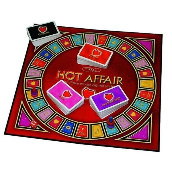 Hot Affair  - Sexspiel Erotik Spiel für Paare Partnerspiel
