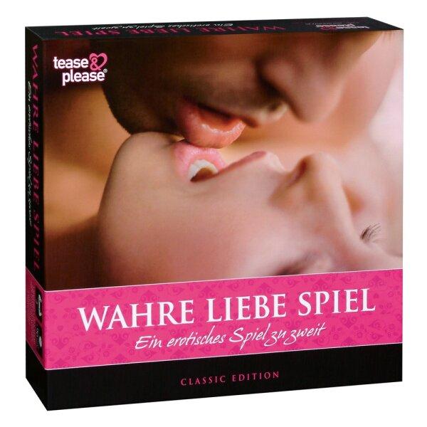 Wahre Liebe  - Sexspiel Erotik Spiel für Paare Partnerspiel