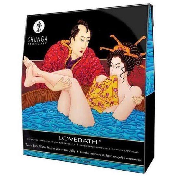 Badesalz SHUNGA Lovebath Liebesbad  japanisches Erlebnis Gelee Bad 650g