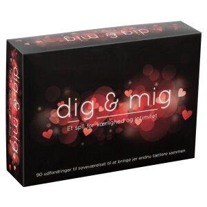 Dig & Mig Dänisch  - Sexspiel Erotik Spiel...