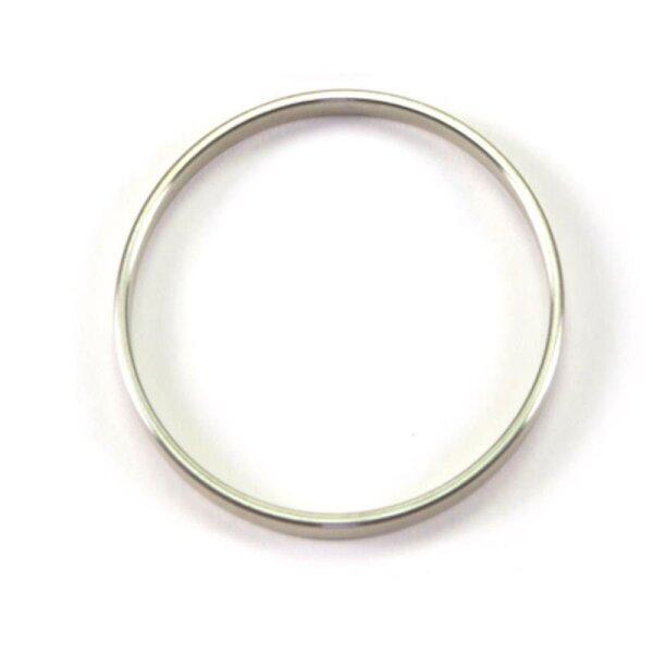 Penisring Cockring Erektion Potenz Metall bellavib ® Edelstahl B:0.5 cm Ø:ca. 35mm