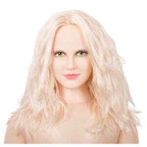 Liebespuppe Sex Puppe Lucy aufblasbar 132cm 3-Loch Lovedoll  3D-Gesicht