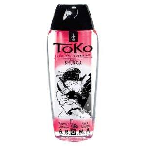 Toko Aroma Strawberry/Sekt 165ml Gleitmittel  Gleitgel