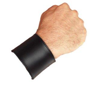 bellavib ® Leder Armband mit Geldfach 5cm. breit