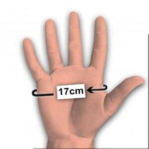 bellavib ® 100% Natur Latex Gummi Domina Handschuhe Klein S