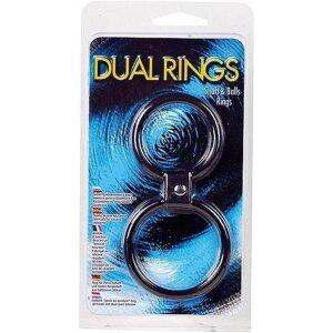 Cockring Penisring Dual Rings schwarz